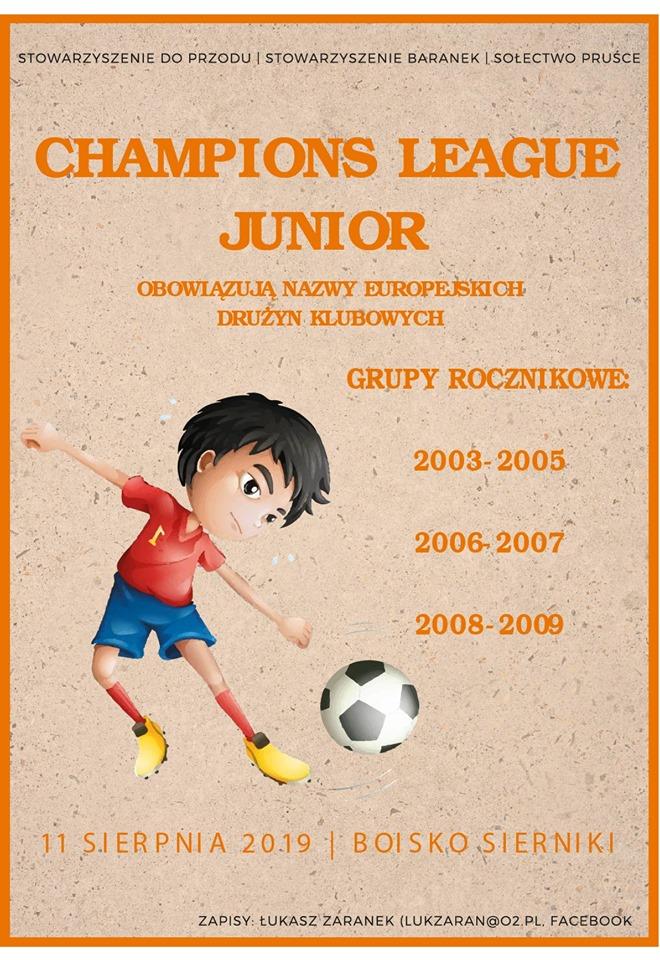 champions league junior sierniki