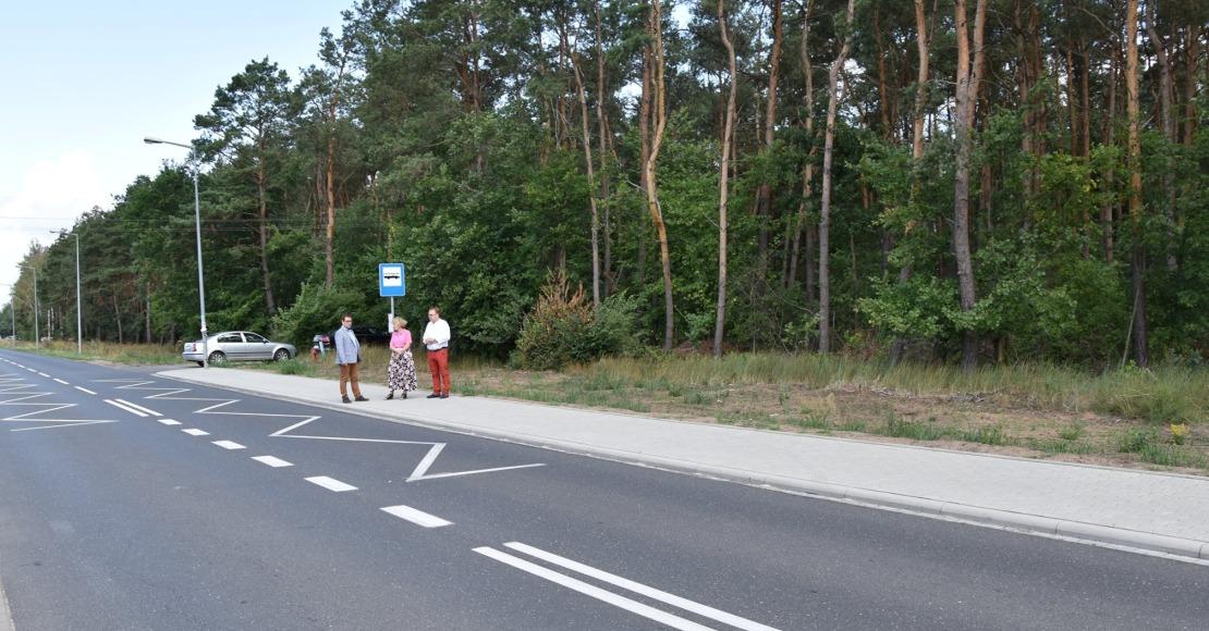 Nowe chodniki w Parkowie i Słonawach