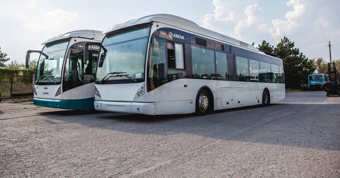 Arriva wprowadza autobusy niskopodłogowe