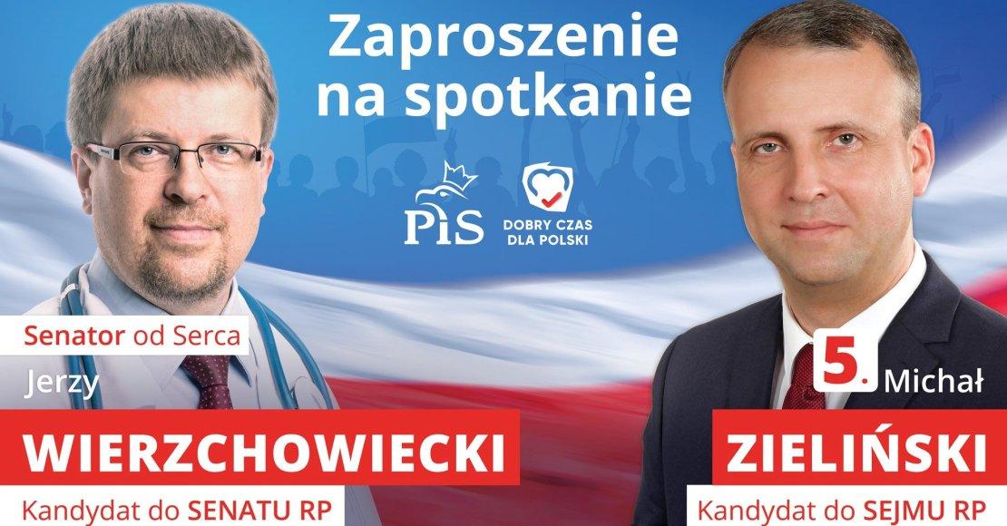 W poniedziałek spotkanie z kandydatami do Sejmu i Senatu RP