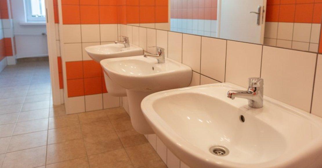 Nowe toalety w SP4 w Obornikach