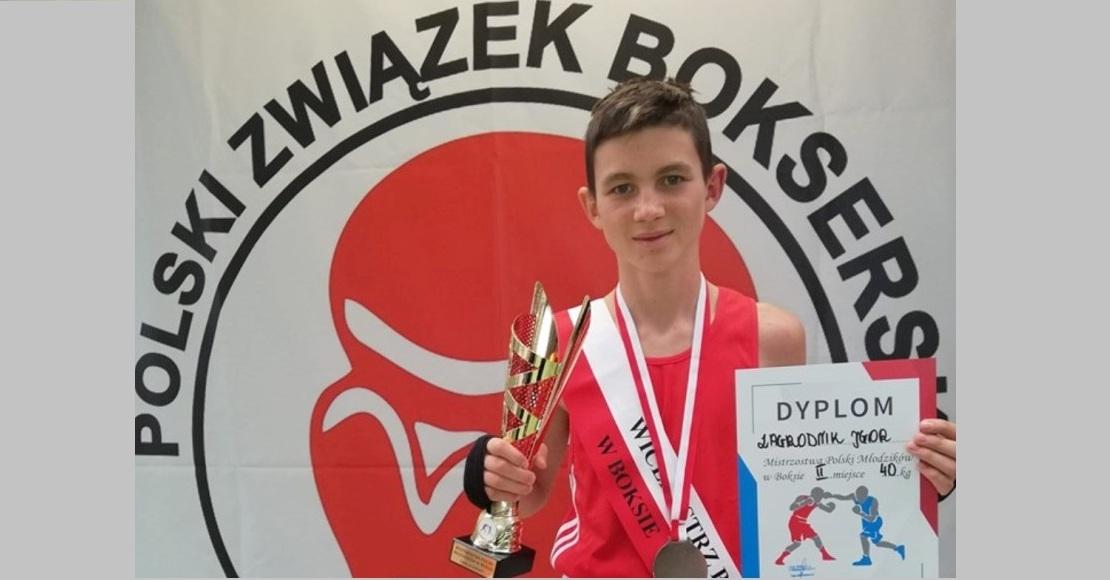 Igor Zagrodnik z tytułem Wicemistrza Polski