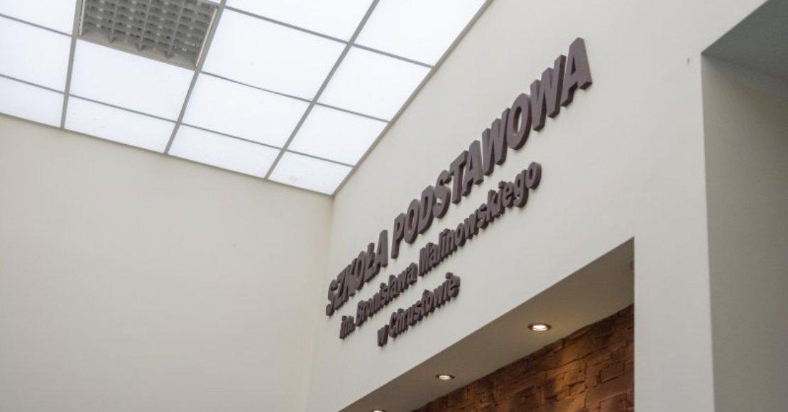 Zakończono modernizację sal lekcyjnych w Chrustowie