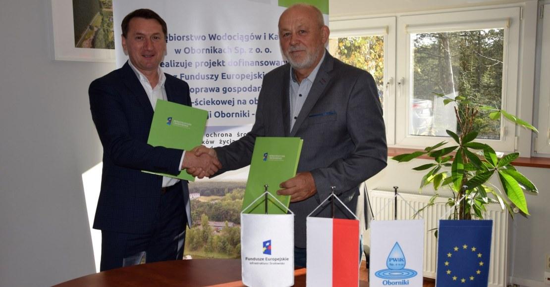 Kolejna umowa realizowana w ramach projektu dofinansowanego z Unii Europejskiej została podpisana