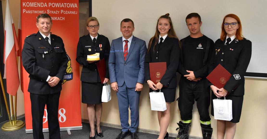 Uhonorowanie działalności pracy Liderów Prewencji Społecznej Powiatu Obornickiego