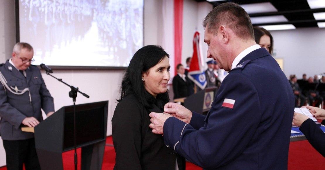 Brązowy Medal Zasługi dla Beaty Matelskiej