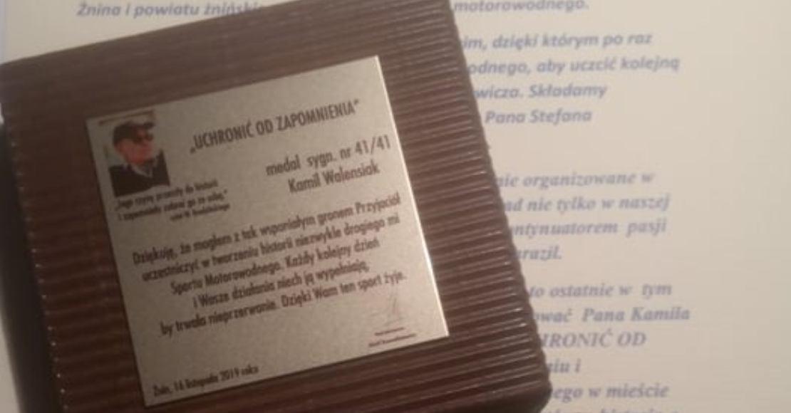 Odznaczenie dla Kamila Walensiaka (foto)