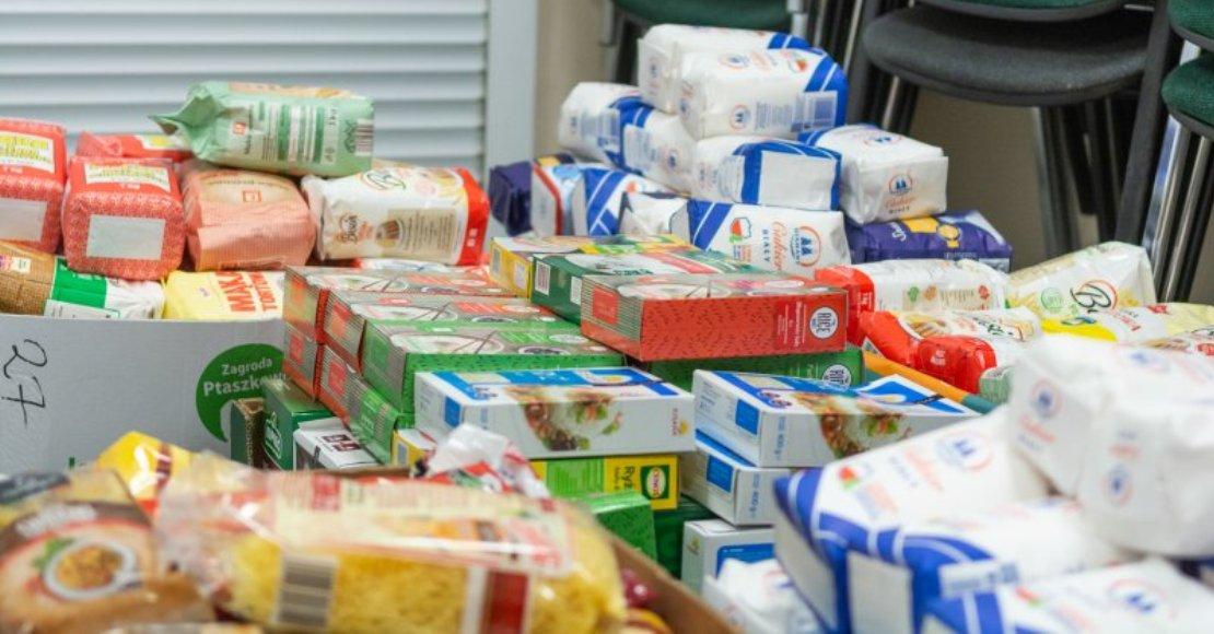 Kolejne paczki żywnościowe trafią do potrzebujących