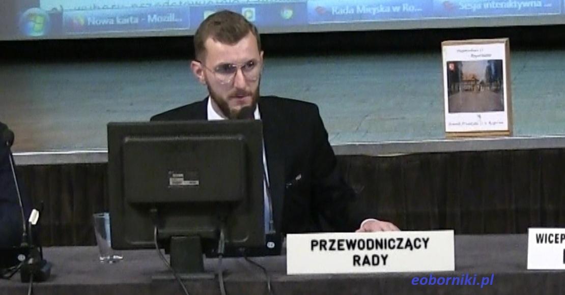 Łukasz Zaranek wybrany Przewodniczącym Rady Miejskiej w Rogoźnie