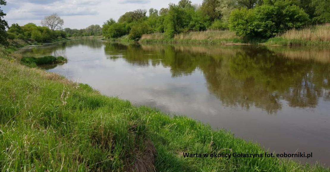Zamknięta droga wodna na Warcie