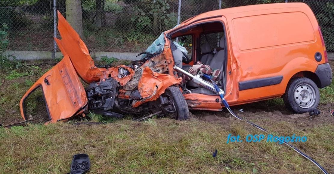 3 osoby ranne w Pruścach (foto)