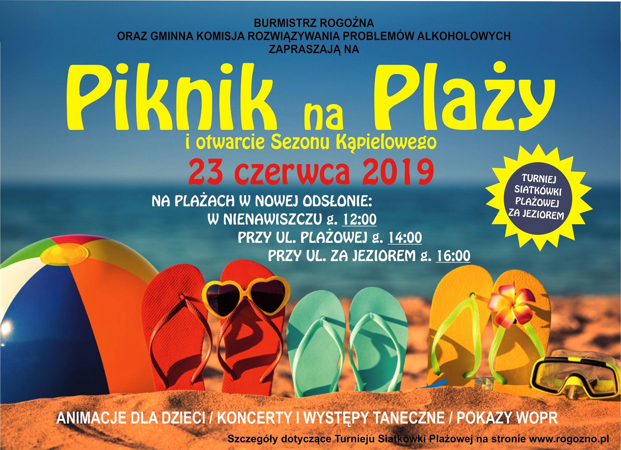 piknik na plazy