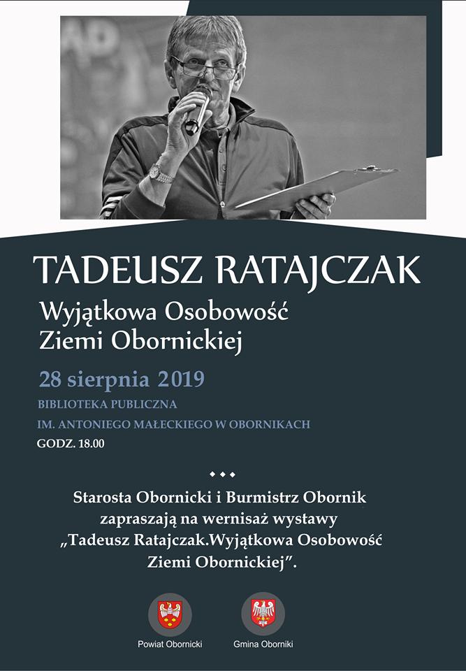 wystawa Tadeusza Ratajczaka