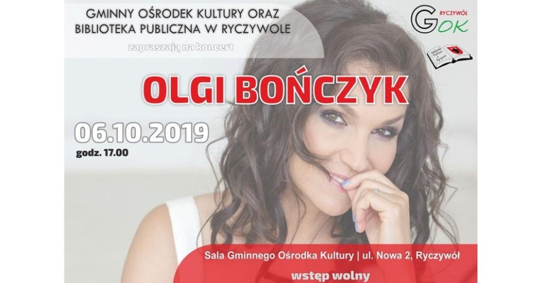 Olga Bończyk zaśpiewa w Ryczywole