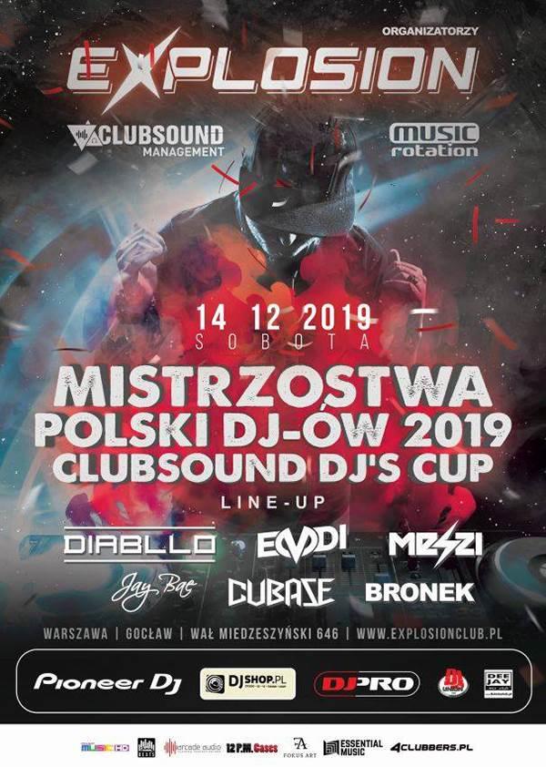 Clubsound DJs Cup 2019 plakat