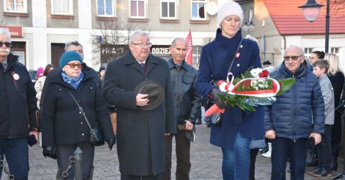 Uroczyste obchody 101 rocznicy wybuchu Powstania Wielkopolskiego w Rogoźnie