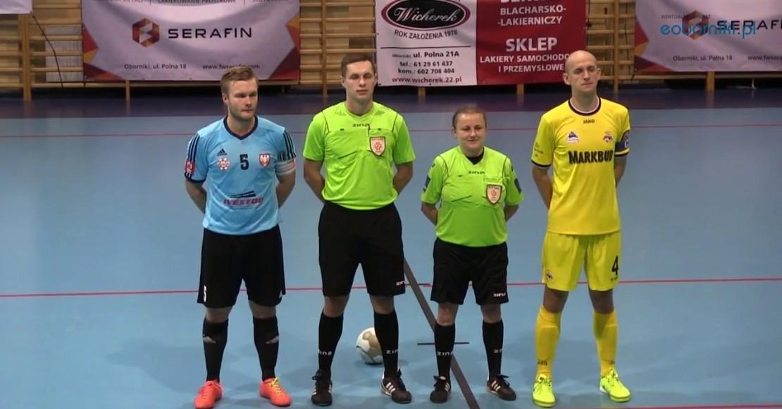 Futsaliści grają o umocnienie się w czołówce (film)