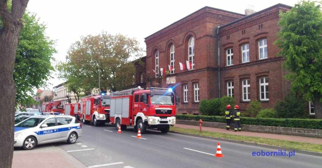 Alarm bombowy w Rogoźnie!