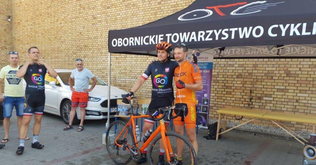 Na jubileusz przejechali 680 km rowerami