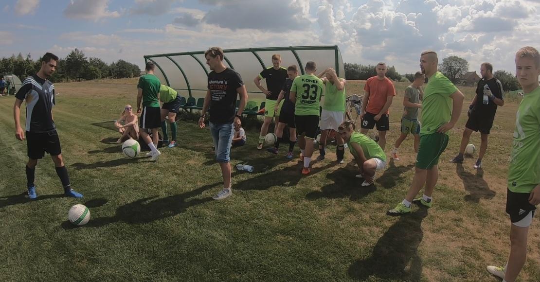 LKS Lipa grał towarzysko z FC Poznań