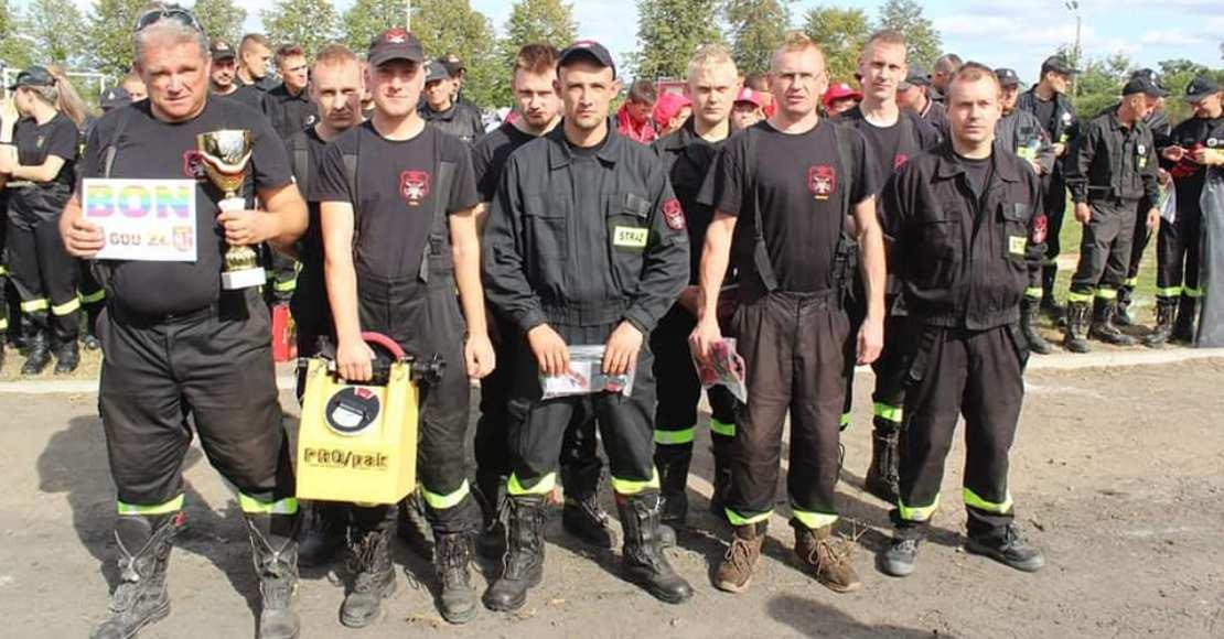 Klasyfikacja zawodów sportowo-pożarniczych w Gościejewie (foto)