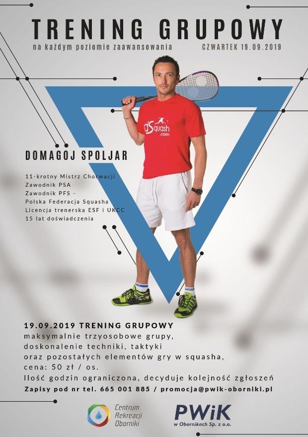 squash centrum rekreacji oborniki