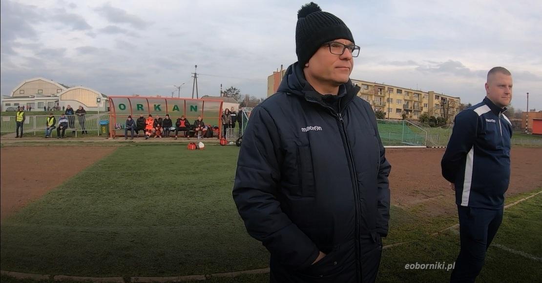 Piotr Kucharski nie jest już trenerem Orkanu Objezierze