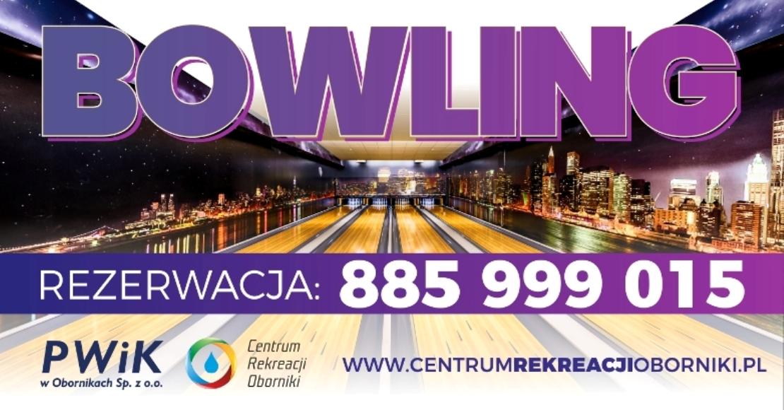 Centrum Rekreacji Oborniki zaprasza na bowling