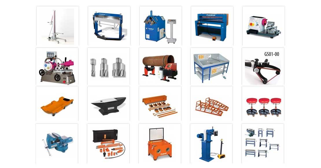 Narzędzia warsztatowe - przegląd maszyn i urządzeń