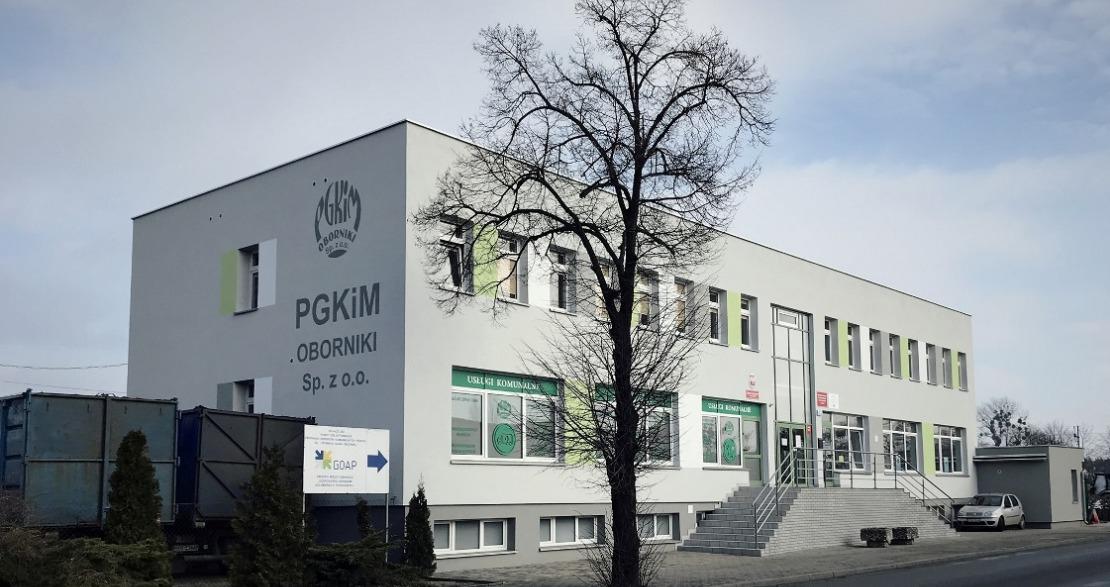 PGKiM Oborniki zamknęło biura obsługi klienta