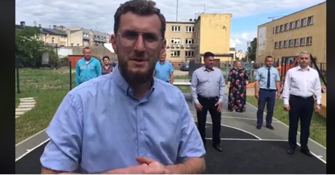 #Gaszynchallenge w wykonaniu rogozińskich radnych (film)