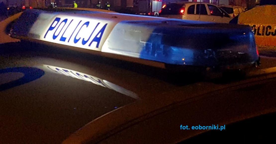 Wypadek w Bogdanowie. Potrącenie na przejściu dla pieszych