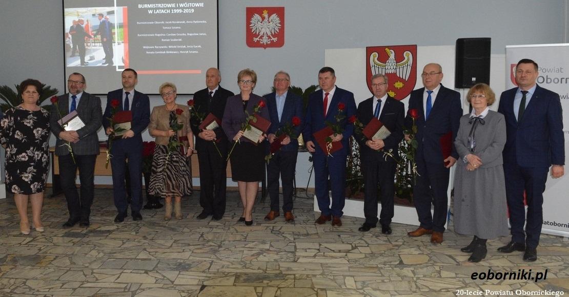 Powiat Obornicki ma 20 lat (foto)