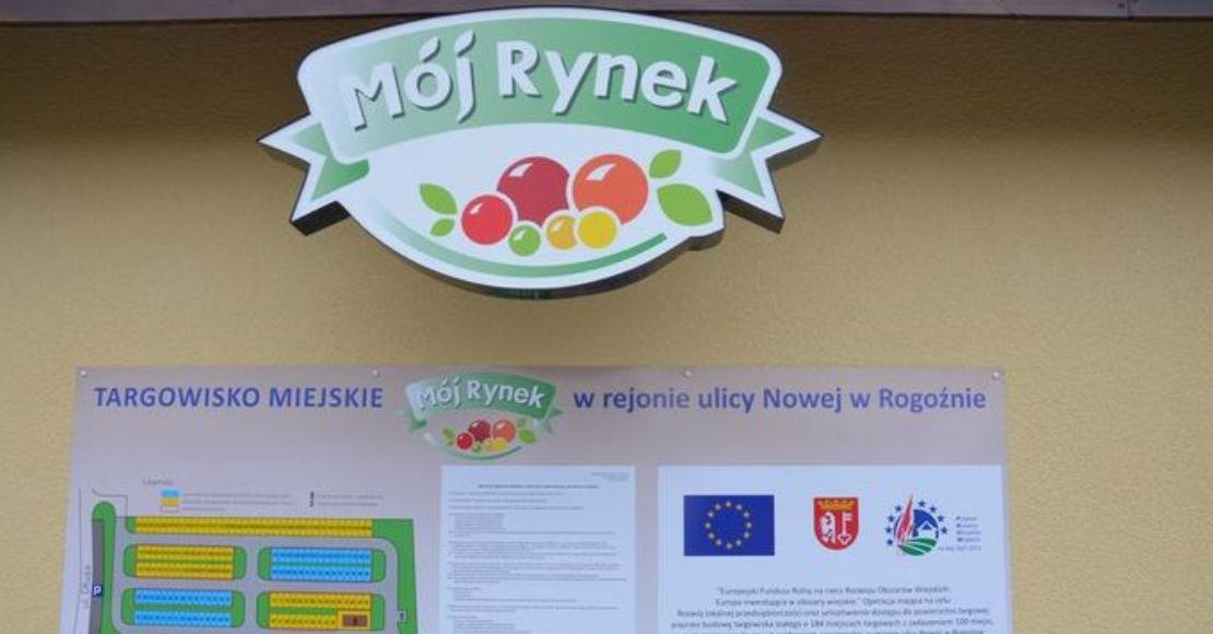 Burmistrz Rogoźna: Targowisko nadal zamknięte