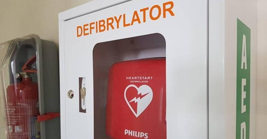 Defibrylatory AED w Starostwie Powiatowym