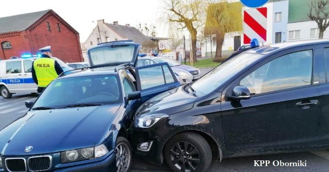 Policyjny pościg za kierowcą BMW