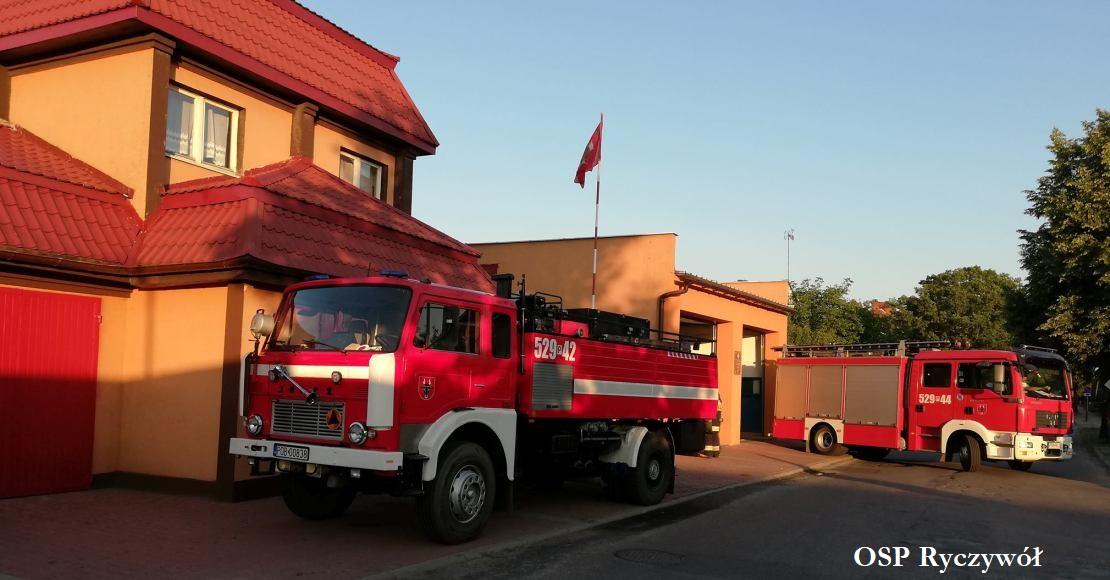 460 tys. dofinansowania na wóz strażacki dla OSP Ryczywół