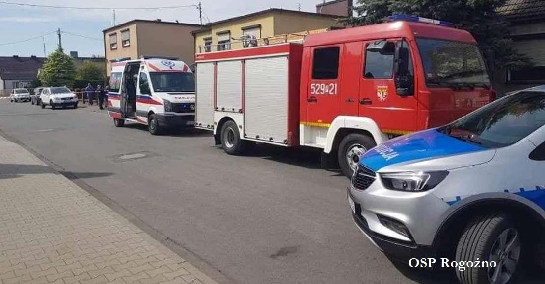Rogozińscy strażacy uratowali mężczyznę