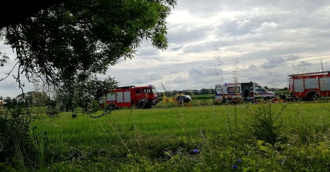 Policja szuka świadków sobotniego wypadku w Ocieszynie