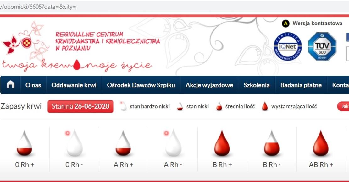 Za tydzień oddasz krew w Ludomach