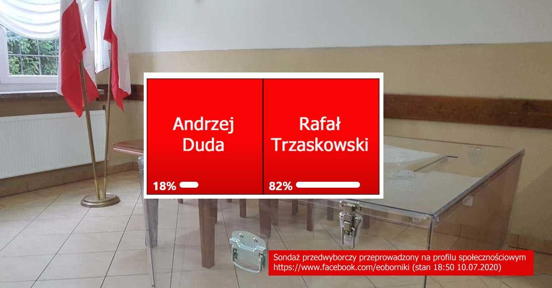 Obornicki Internet murem za Rafałem Trzaskowskim