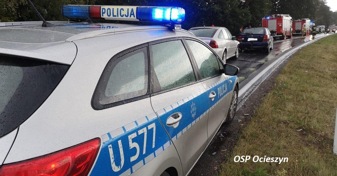 Trzy osoby poszkodowane w Łukowie (foto)