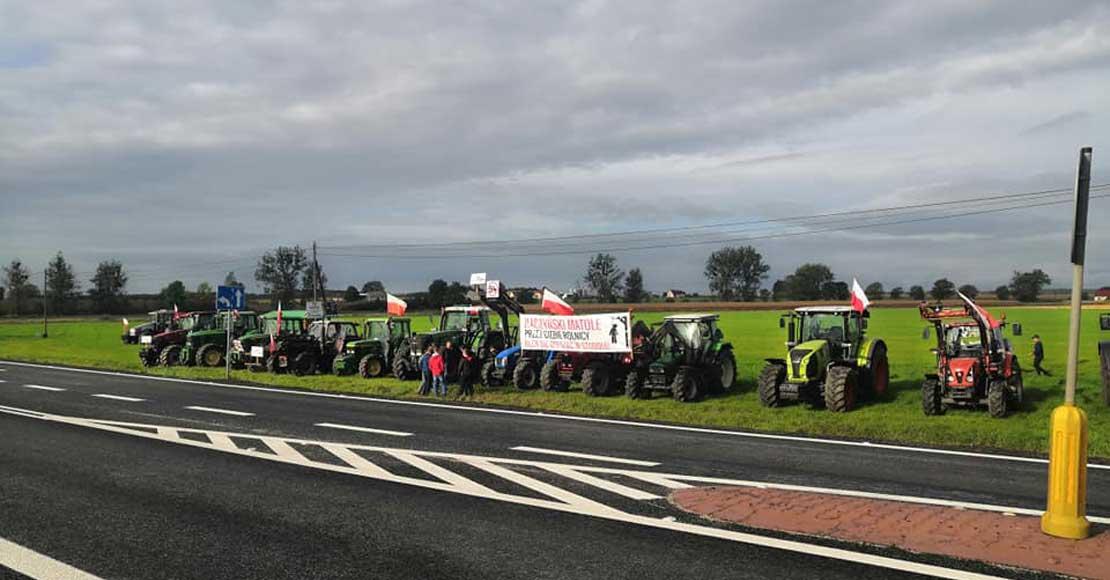 Protesty rolników nabierają na sile, powstał ogólnopolski Komitet Strajkowy
