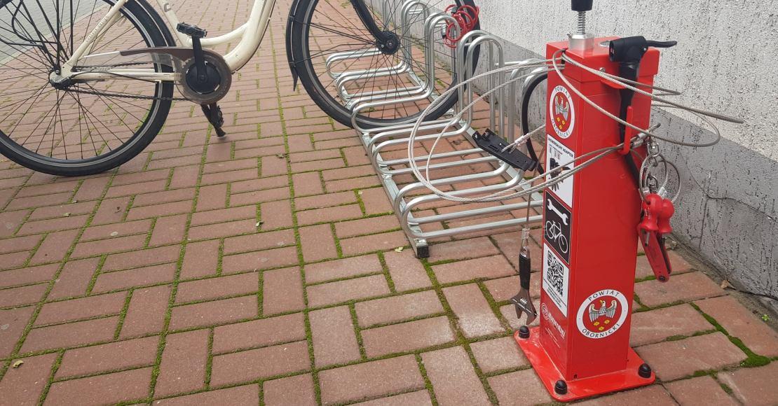 Tutaj naprawisz w razie potrzeby swój rower