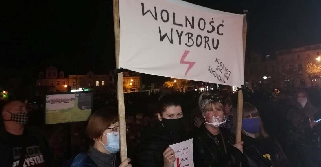 Strajk Po Wybór sparaliżował miasto