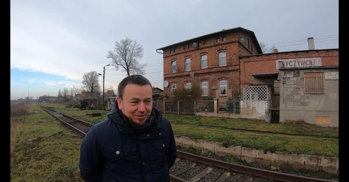 Robert Zimny o linii kolejowej Czarnków-Ryczywół-Rogoźno (film)