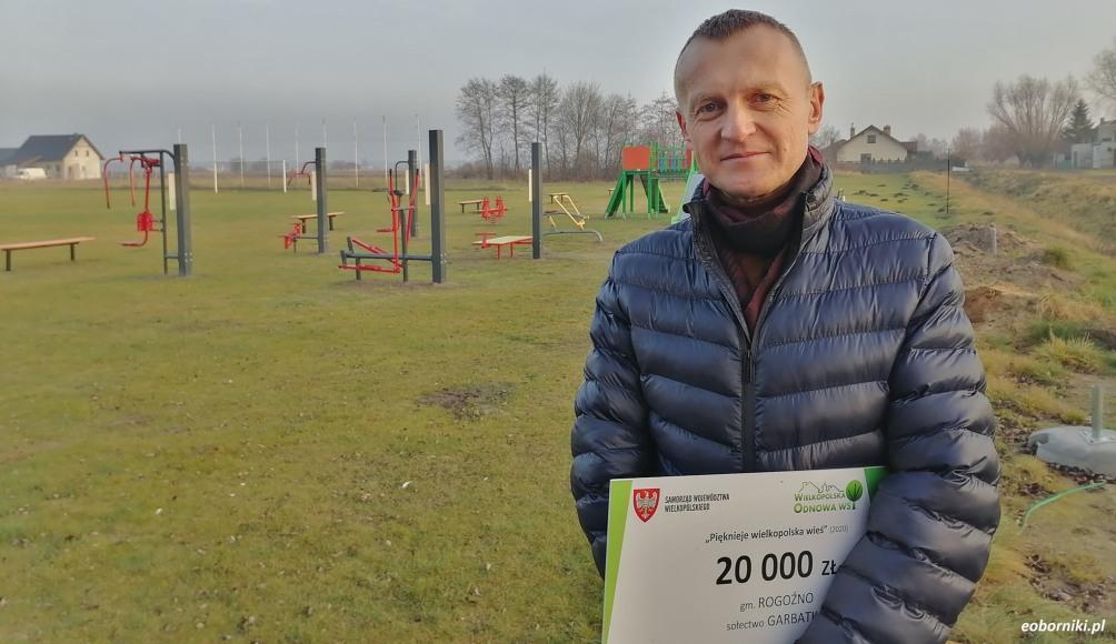 W Garbatce mieszkańcy mogą korzystać z placu zabaw i siłowni zewnętrznej (wywiad)