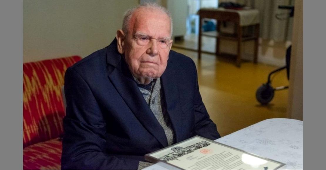Roman Gierka skończył 100 lat