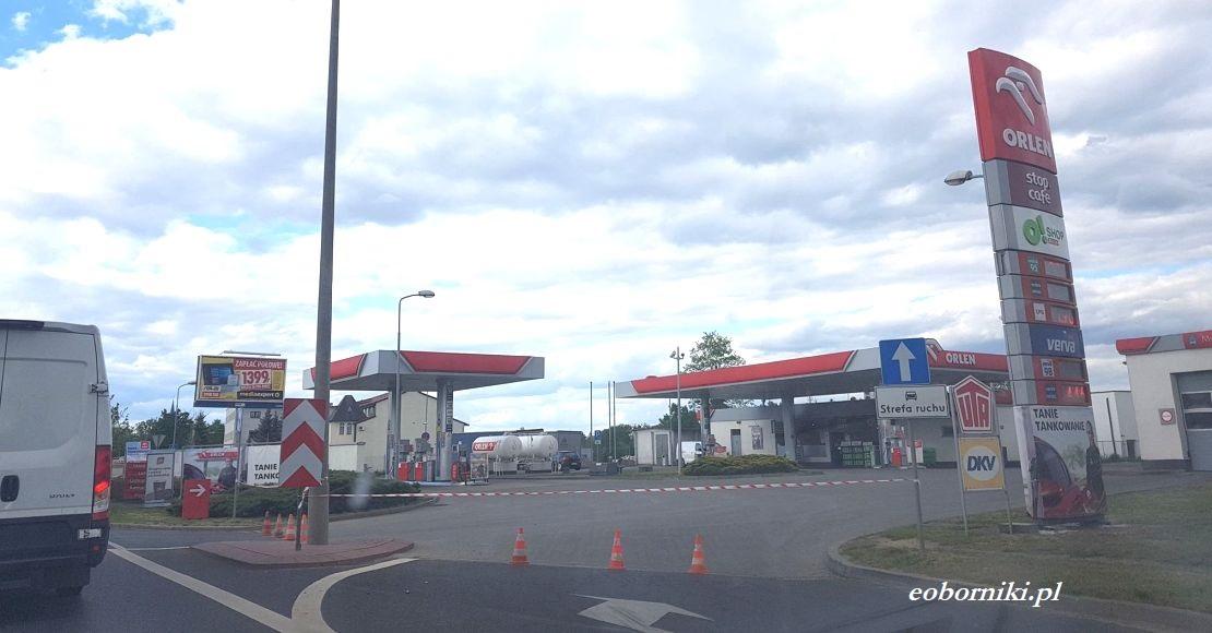 Dlaczego nieczynna jest stacja paliw Orlen?
