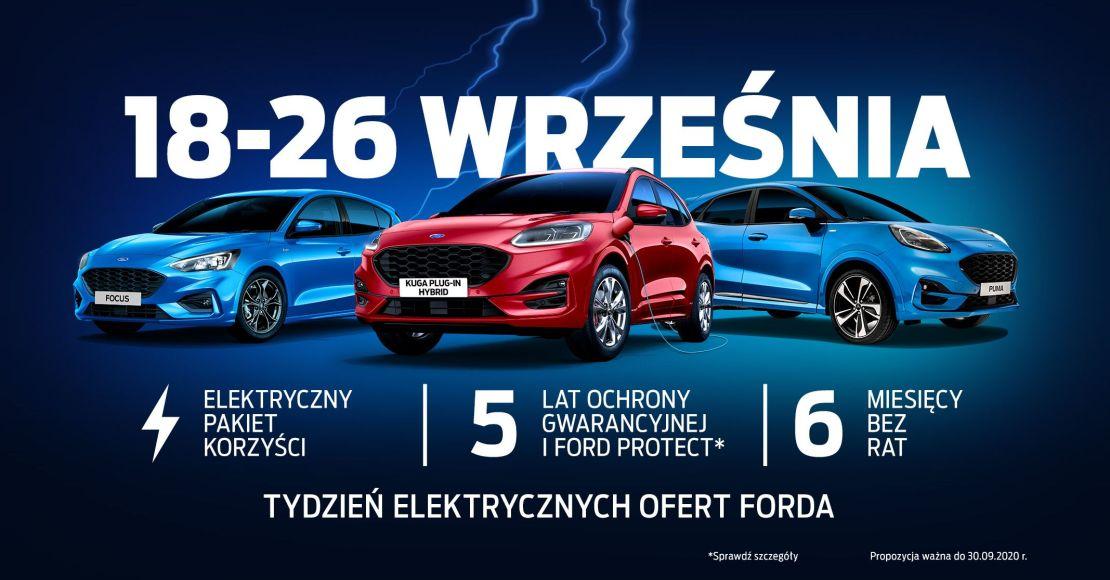 Tydzień elektrycznych ofert Forda w Auto Watin